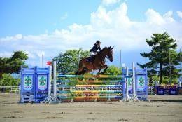山梨県馬術競技場の写真