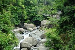 大柳川渓谷の写真
