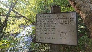 虹見の滝の写真