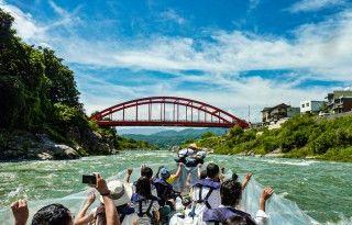 遠州天竜舟下りの写真
