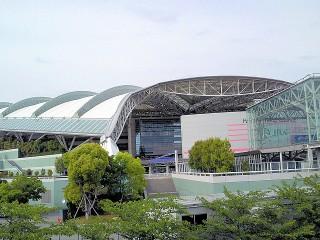阪神競馬場の写真