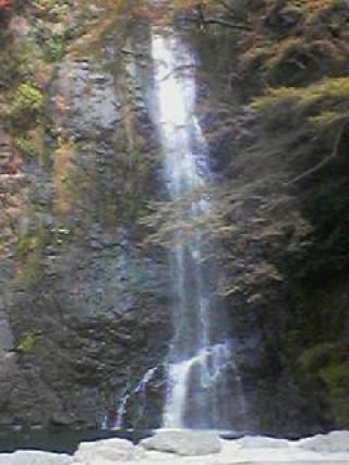 箕面滝の写真