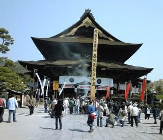 信州善光寺の写真