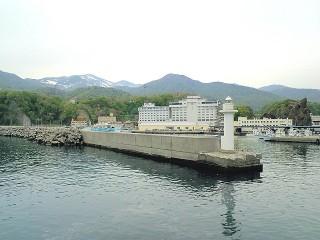 知床ウトロ温泉の写真