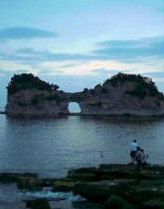 円月島の写真
