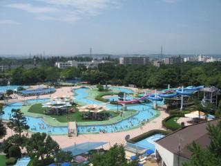 国営昭和記念公園レインボープールの写真