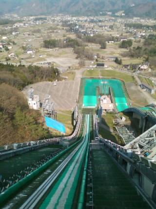 白馬ジャンプ競技場の写真