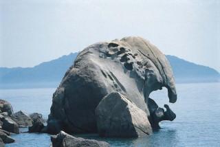象岩の写真
