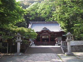 伊豆山神社の写真