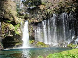 白糸の滝の写真