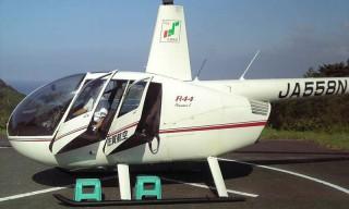 呼子ヘリコプター遊覧飛行の写真