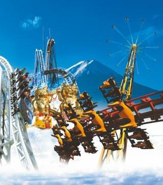 富士急ハイランドの写真