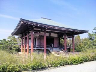 中宮寺の写真