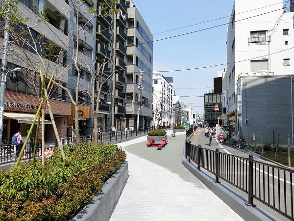 旧渋谷川遊歩道(キャットストリ...