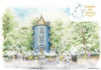 ムーミン谷に雲海が出現!ムーミンバレーパークの夏イベント『SUMMER ART FESTIVAL』開催