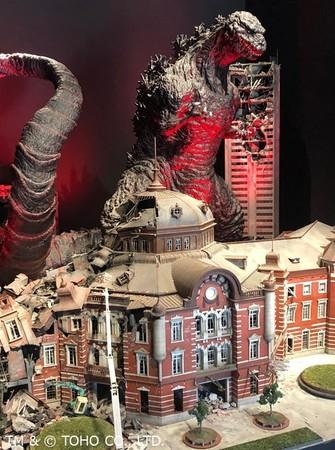 「ニジゲンノモリ」に常設型施設『ゴジラミュージアム』2020年8月8日先行オープン