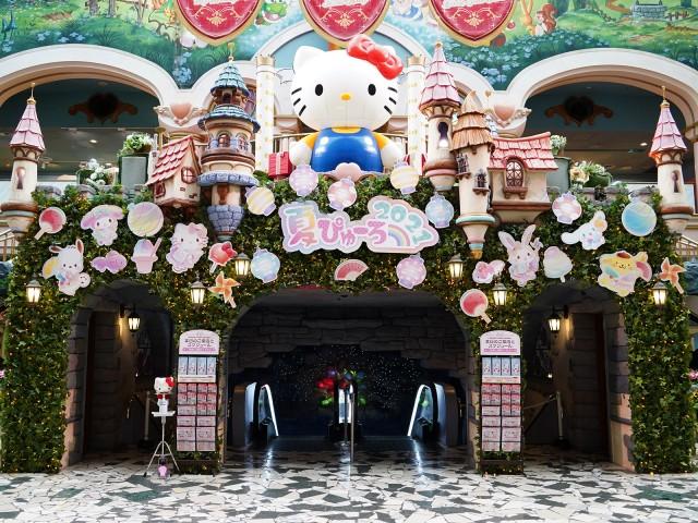 """2年ぶりの開催!ポップでKAWAII夏祭り""""夏ぴゅーろ""""!夏の期間限定スペシャルイベントで盛り上がろう"""