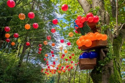 秋のイベント!バルーンスカイが秋空を彩る『ムーミンバレーパークのハーベスト』